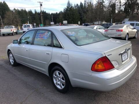2002 Toyota Avalon for sale at Freeborn Motors in Lafayette, OR