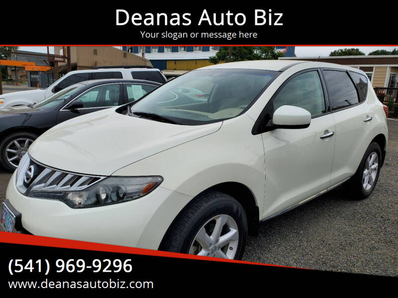 2010 Nissan Murano for sale at Deanas Auto Biz in Pendleton OR