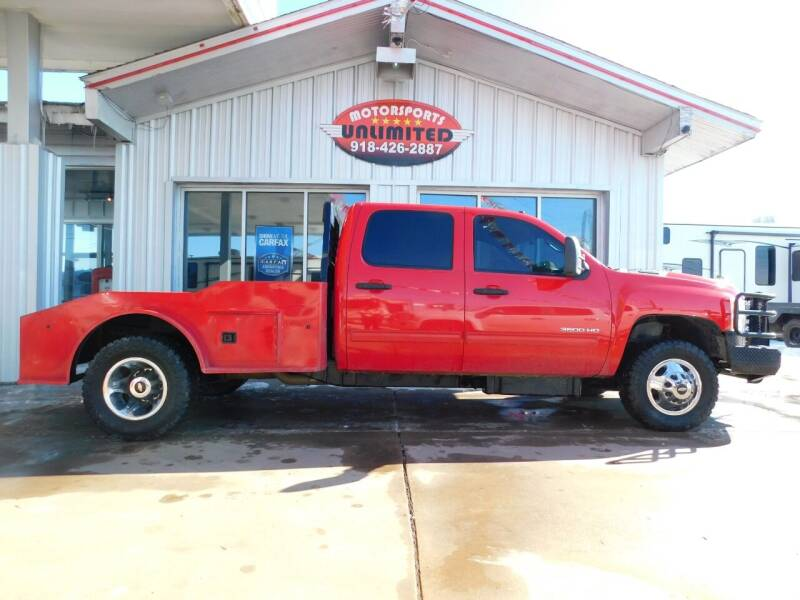 2013 Chevrolet Silverado 3500HD for sale at Motorsports Unlimited in McAlester OK