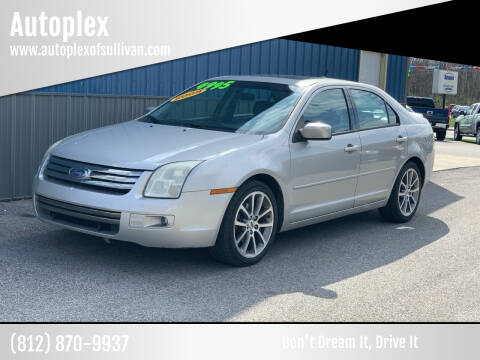 2008 Ford Fusion for sale at Autoplex in Sullivan IN