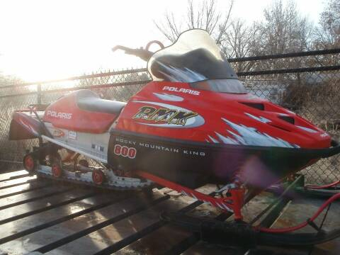 2001 Polaris 800RMK for sale at Ace Auto Sales in Boise ID