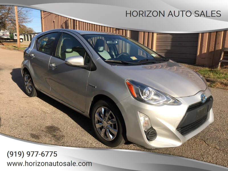2015 Toyota Prius c for sale at Horizon Auto Sales in Raleigh NC