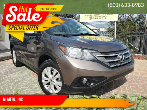 2014 Honda CR-V for sale at M AUTO, INC in Millcreek UT