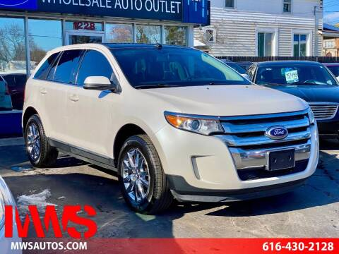 2013 Ford Edge for sale at MWS Wholesale  Auto Outlet in Grand Rapids MI