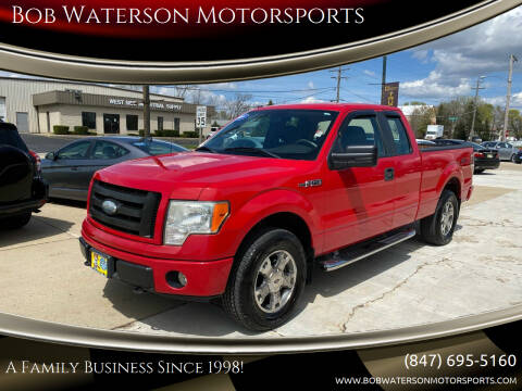 2009 Ford F-150 for sale at Bob Waterson Motorsports in South Elgin IL