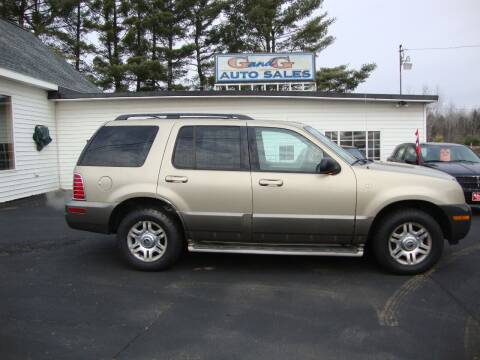 2003 Mercury Mountaineer for sale at G and G AUTO SALES in Merrill WI