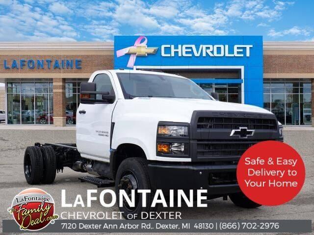 2020 Chevrolet Silverado 5500HD for sale in Dexter, MI