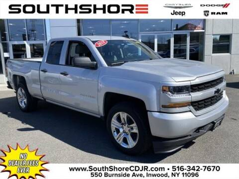 2018 Chevrolet Silverado 1500 for sale at South Shore Chrysler Dodge Jeep Ram in Inwood NY