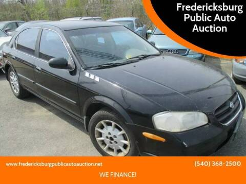 2000 Nissan Maxima for sale at FPAA in Fredericksburg VA