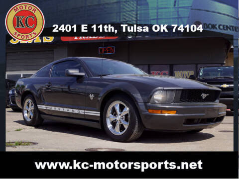 2009 Ford Mustang for sale at KC MOTORSPORTS in Tulsa OK