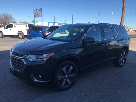 2018 Chevrolet Traverse for sale at Superior Used Cars LLC in Claremore OK
