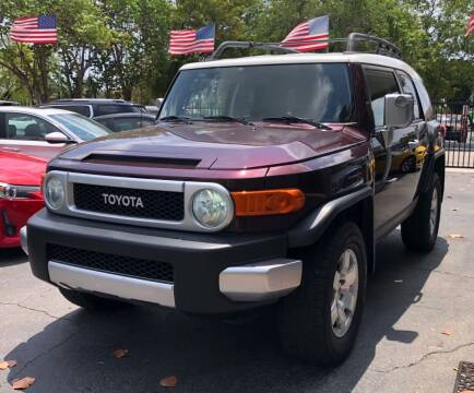 2007 Toyota FJ Cruiser for sale at Meru Motors in Hollywood FL