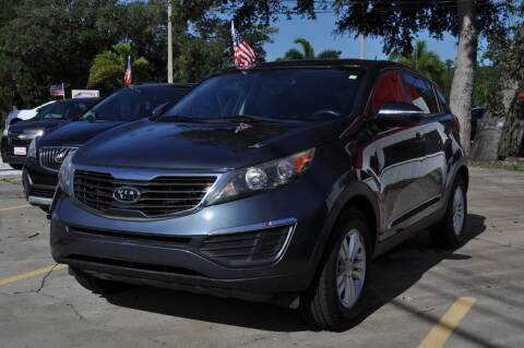 2011 Kia Sportage for sale at STEPANEK'S AUTO SALES & SERVICE INC. in Vero Beach FL