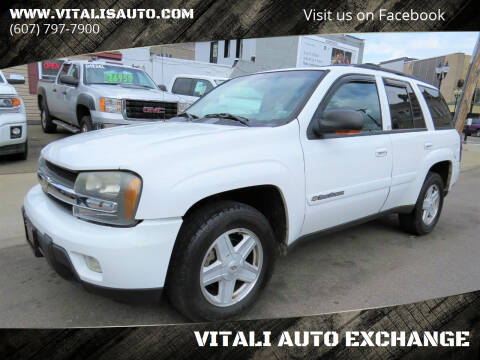 2002 Chevrolet TrailBlazer for sale at VITALI AUTO EXCHANGE in Johnson City NY