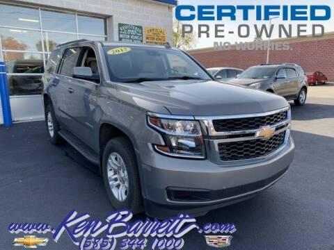 2017 Chevrolet Tahoe for sale at KEN BARRETT CHEVROLET CADILLAC in Batavia NY