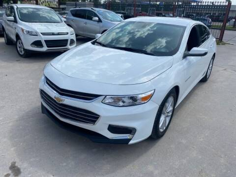 2016 Chevrolet Malibu for sale at Sam's Auto Sales in Houston TX