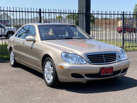 2003 Mercedes-Benz S-Class for sale at Avanesyan Motors in Orem UT