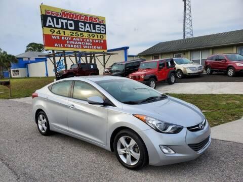 2013 Hyundai Elantra for sale at Mox Motors in Port Charlotte FL