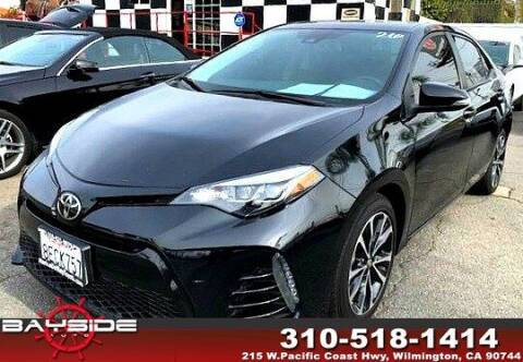 2018 Toyota Corolla for sale at BaySide Auto in Wilmington CA