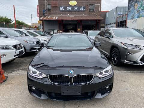 2016 BMW 4 Series for sale at TJ AUTO in Brooklyn NY
