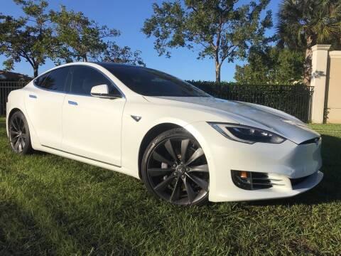2017 Tesla Model S for sale at Kaler Auto Sales in Wilton Manors FL