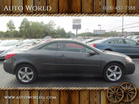 2006 Pontiac G6 for sale at Auto World in Carbondale IL