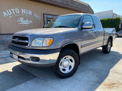 2002 Toyota Tundra for sale at Auto Hub, Inc. in Anaheim CA