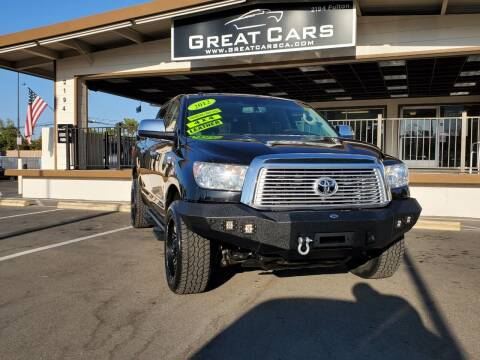 2012 Toyota Tundra for sale at Great Cars in Sacramento CA