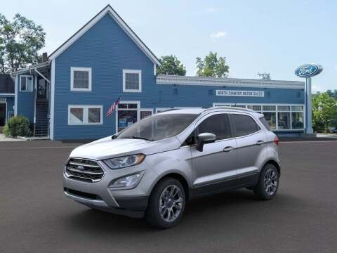 2020 Ford EcoSport for sale at SCHURMAN MOTOR COMPANY in Lancaster NH