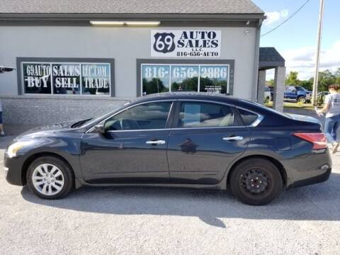 2013 Nissan Altima for sale at 69 Auto Sales LLC in Excelsior Springs MO