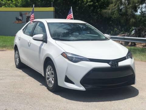 2018 Toyota Corolla for sale at CAR UZD in Miami FL