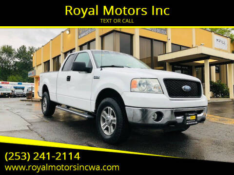 2006 Ford F-150 for sale at Royal Motors Inc in Kent WA