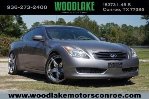 2008 Infiniti G37 for sale at WOODLAKE MOTORS in Conroe TX