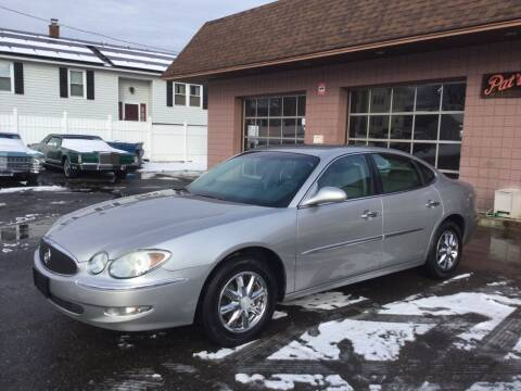 2006 Buick LaCrosse for sale at Pat's Auto Sales, Inc. in West Springfield MA