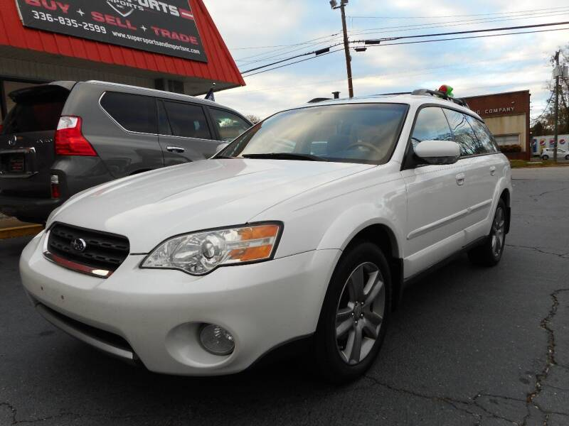 2006 Subaru Outback for sale at Super Sports & Imports in Jonesville NC