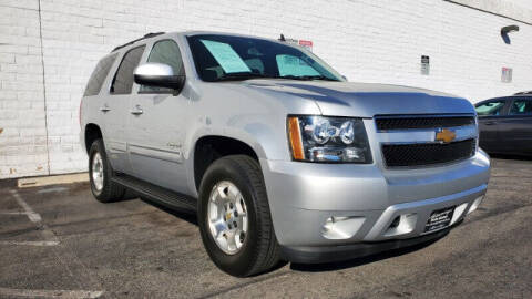 2013 Chevrolet Tahoe for sale at ADVANTAGE AUTO SALES INC in Bell CA