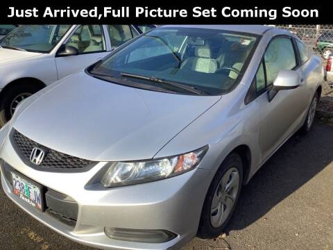 2013 Honda Civic for sale at Royal Moore Custom Finance in Hillsboro OR