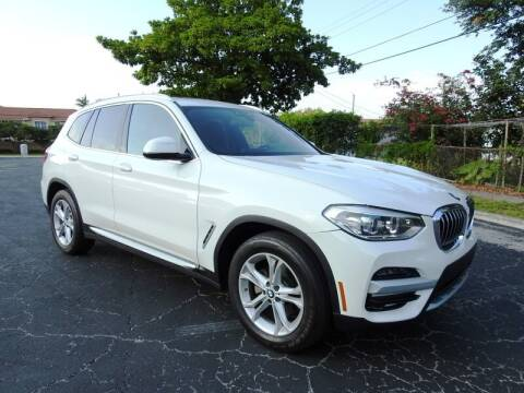 2020 BMW X3 for sale at SUPER DEAL MOTORS 441 in Hollywood FL