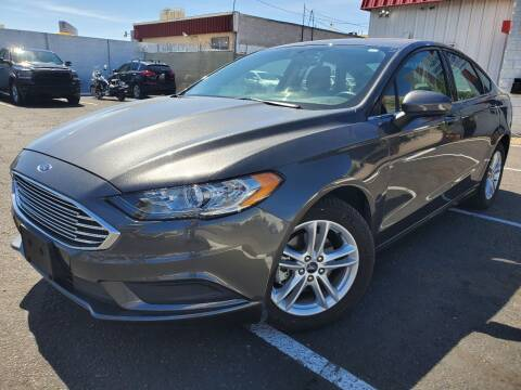 2018 Ford Fusion for sale at Auto Center Of Las Vegas in Las Vegas NV