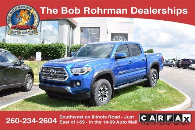 2016 Toyota Tacoma for sale at BOB ROHRMAN FORT WAYNE TOYOTA in Fort Wayne IN