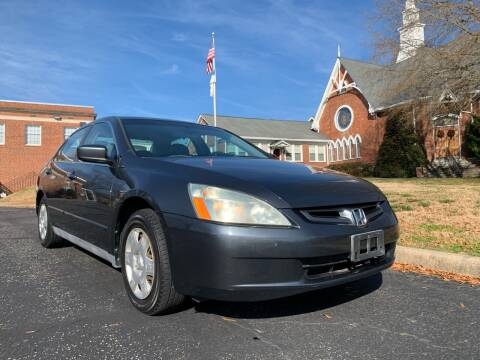 2005 Honda Accord for sale at Automax of Eden in Eden NC