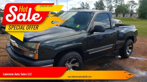 2005 Chevrolet Silverado 1500 for sale at Lakeview Auto Sales LLC in Sycamore GA