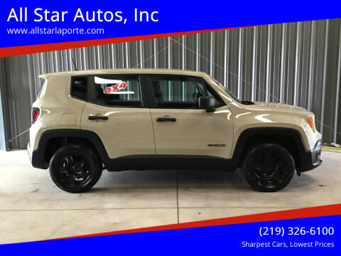 2015 Jeep Renegade for sale at All Star Autos, Inc in La Porte IN
