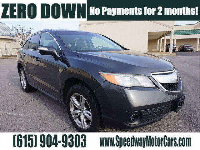 2013 Acura RDX for sale at Speedway Motors in Murfreesboro TN