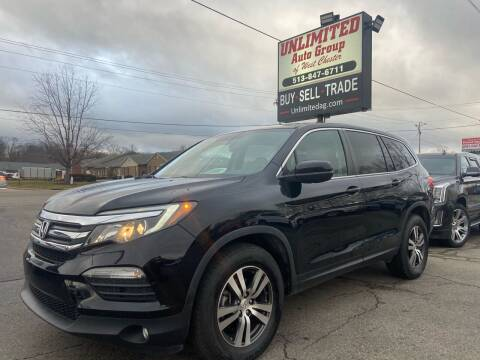2017 Honda Pilot for sale at Unlimited Auto Group in West Chester OH
