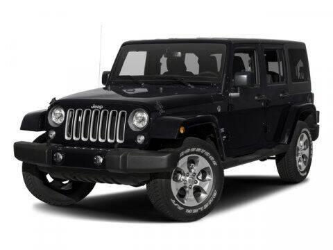 2017 Jeep Wrangler Unlimited for sale at Strosnider Chevrolet in Hopewell VA