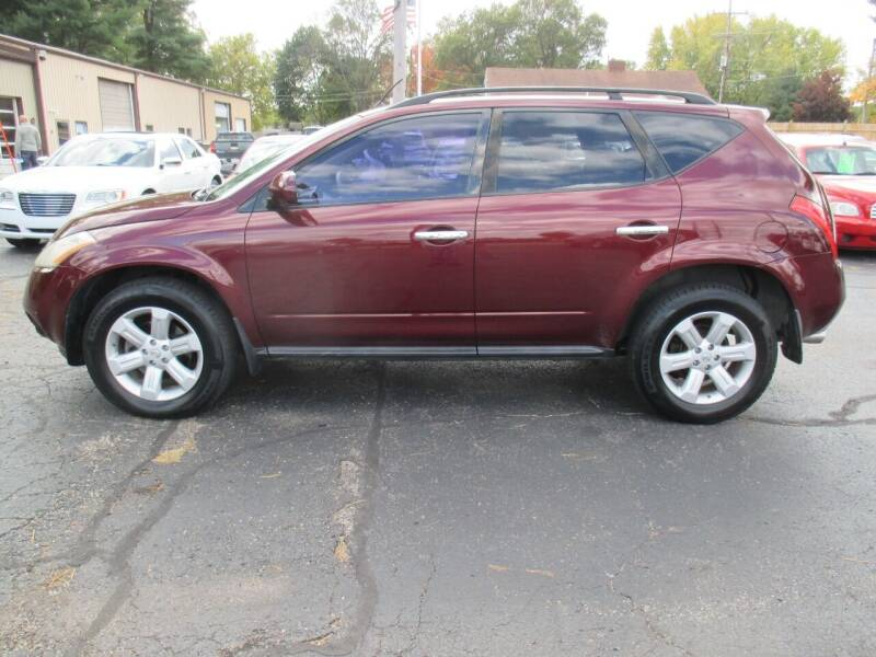 2007 Nissan Murano for sale at Home Street Auto Sales in Mishawaka IN
