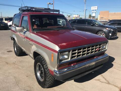 1988 Ford Bronco II for sale at Rock Star Auto Sales in Las Vegas NV