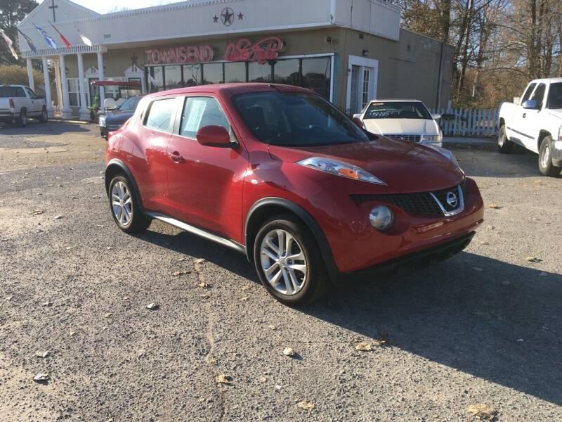 2014 Nissan JUKE for sale at Townsend Auto Mart in Millington TN
