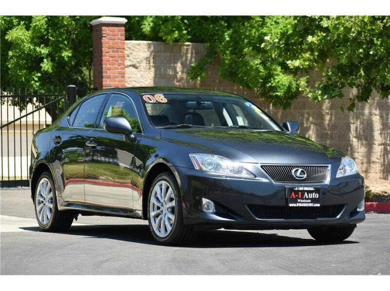 2006 Lexus IS 250 for sale at A-1 Auto Wholesale in Sacramento CA